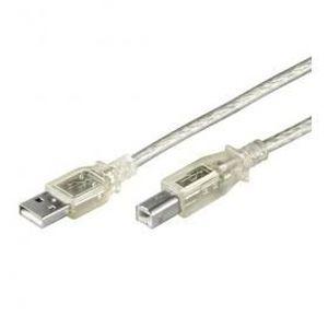 CÂBLE INFORMATIQUE Câble data Usb A-B mâle-mâle, 2.0 High-speed, 1.0m