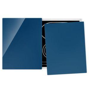 PLAQUE INDUCTION Couvre plaque de cuisson - Prussian Blue - 52x80cm