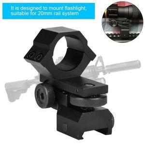 CHASSE - PISTAGE ss-33-Support de lampe de poche laser pour lunette