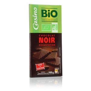 CHOCOLAT NOIR AUCUNE Chocolat noir degustation - Bio - 100g