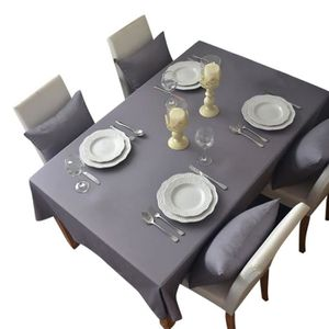Keral Nappe De Table Polyester Rectangulaire Carree Nappes Anti