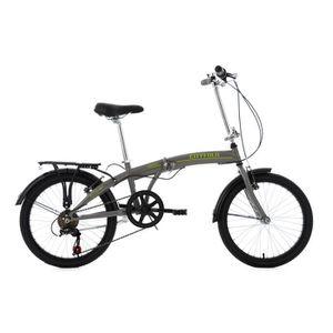 VÉLO PLIANT Vélo pliable 20'' Cityfold gris TC 27 cm KS Cyclin