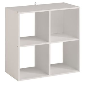 etagere cube blanc achat vente etagere cube blanc pas. Black Bedroom Furniture Sets. Home Design Ideas