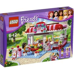 ASSEMBLAGE CONSTRUCTION Lego Friends - Le Café + Figurines
