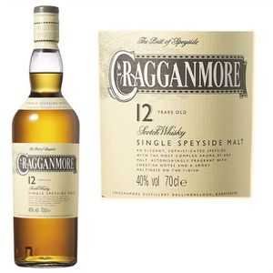 WHISKY BOURBON SCOTCH Cragganmore Whisky 12 ans (70cl)