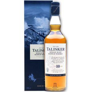 WHISKY BOURBON SCOTCH Talisker 10 ans - Highlands-Skye Single Malt Whisk