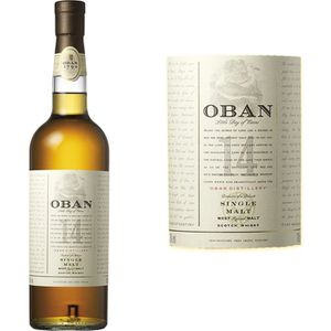 WHISKY BOURBON SCOTCH Oban 14 ans - Highlands Single Malt Whisky - 43% -