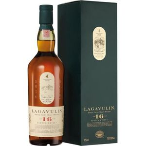 WHISKY BOURBON SCOTCH Lagavulin 16 ans - Islay Single Malt Whisky - 43%
