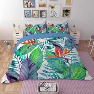 housse de couette tropical achat vente pas cher. Black Bedroom Furniture Sets. Home Design Ideas