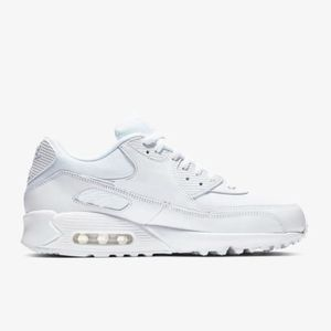 low priced aaade 78f87 BASKET Air Max 90 Essential mixte blanc