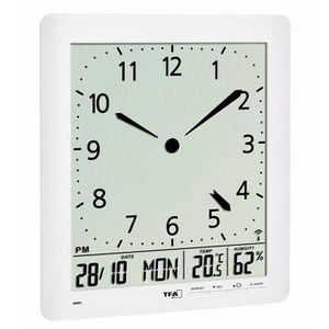 HORLOGE - PENDULE TFA Dostmann 60.4515.02 Horloge murale radio pilot