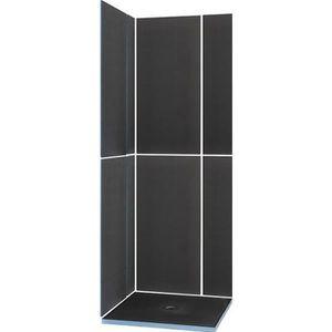 RECEVEUR DE DOUCHE Kit receveur de douche carré complet - 90 x 90 cm