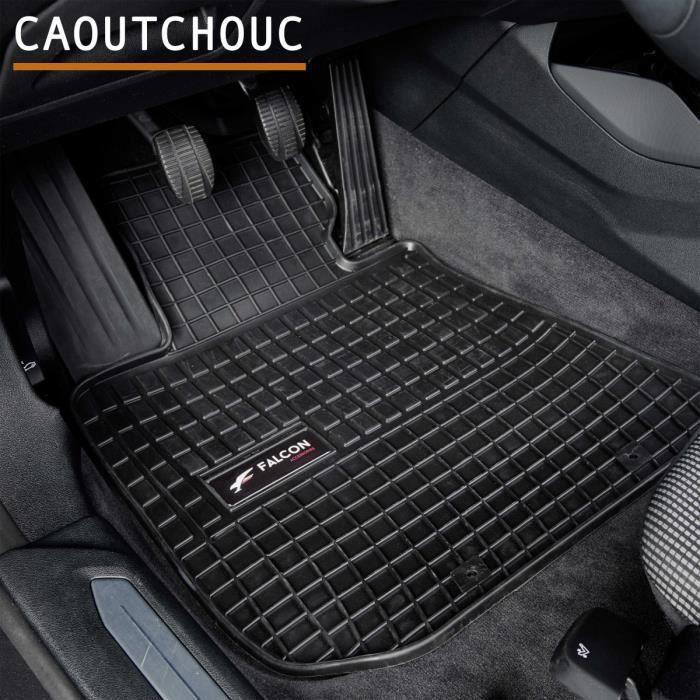 Tapis de voiture - Sur Mesure pour CLIO 4 (2012 - 2019) - 4 pièces - Tapis de sol antidérapant pour automobile - Souple