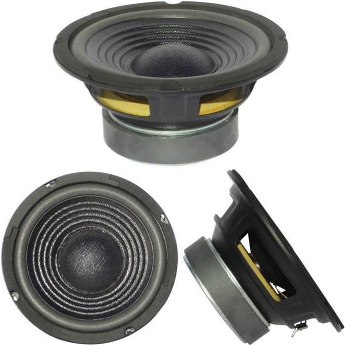 MASTER AUDIO CW800/4 haut parleur woofer moyen bas diamètre 20,00 cm 200 mm 8- 150 watt rms 300 watt max 4 ohm 93 db spl, 1 piece