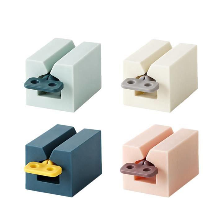 4 accessoires de dentifrice Creative Novel pour la cuisine PRESSE-TUBE