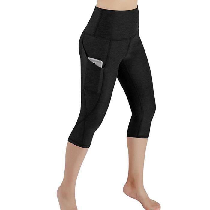 Femmes Workout Out Leggings De Poche Fitness Sports Gym Courir Yoga Athletic Pantalon LNP80528364BK Noir rww1372 Aa65724