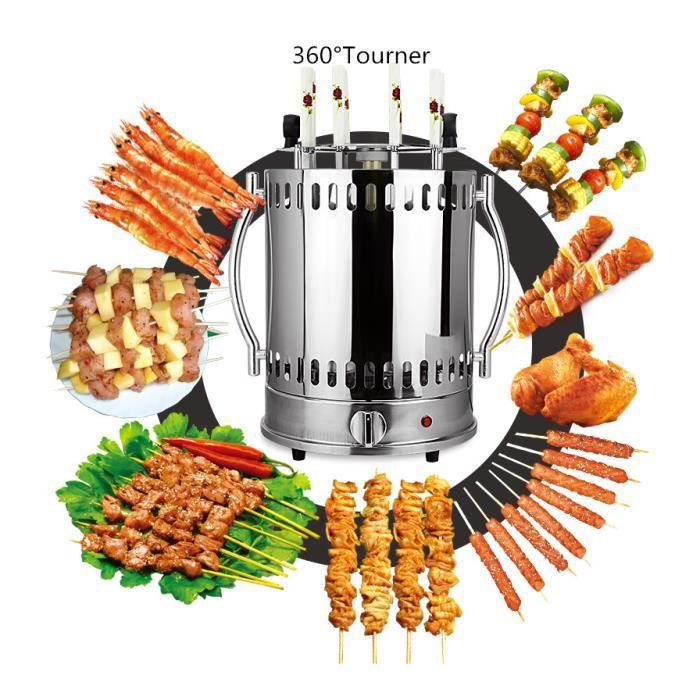 Accueil Fermé Smokeless Grill Kebab Machine - Automatic Rotating Grill