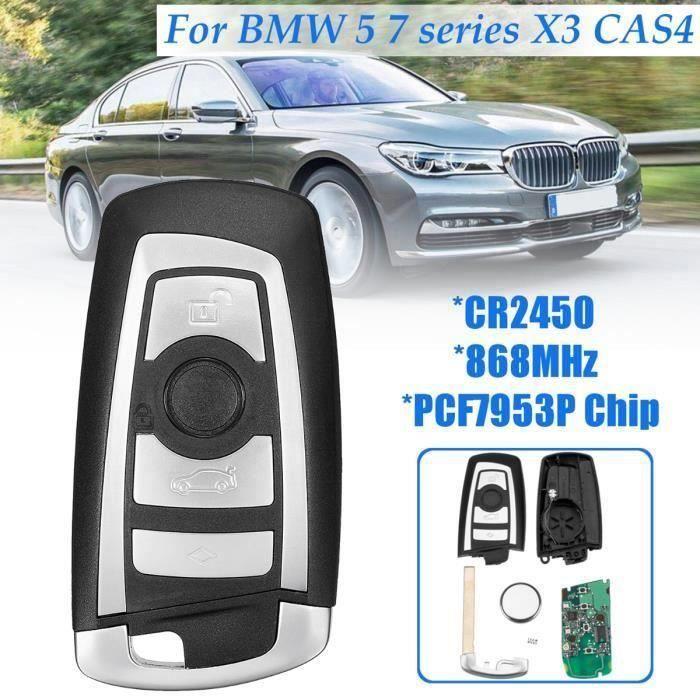 CITALL Start Stop Bouton du moteur Couvercle du commutateur Fit pour BMW 5 6 7 F01 F10 F11 F20 F21 F30 F31