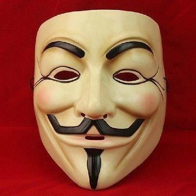 Masque anonymous - V pour vandetta la03338