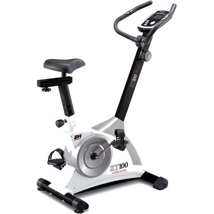 BH Fitness ZT100 H315 Vélo d'appartement. Volant d'inertie 7,5kg. Système de frein magnétique. Console LCD. Roulettes de transpor...