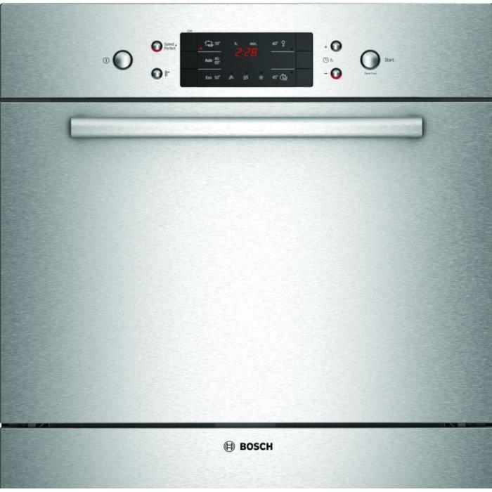 Bosch - Lave-Vaisselle 60Cm 7C 47Db A+ Intégrable Avec Bandeau Inox - Sce52M75Eu