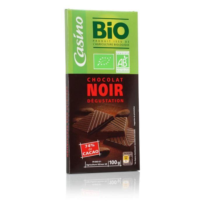 AUCUNE Chocolat noir degustation - Bio - 100g