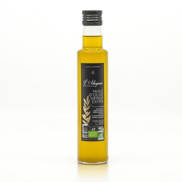 Huile d'Olive Vierge Extra BIO Française L'Arbequine 25cl