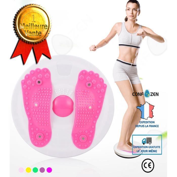 CONFO® Disque de torsion Aimant Grand Équipement de Fitness à Domicile Exercice Entraînement Belle Taille Appareil Dames Corps Sculp