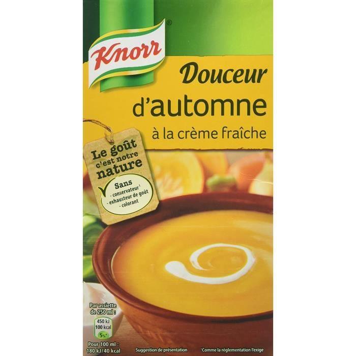Knorr Soupe Douceur d'Automne à La Crème Fraîche 1 L