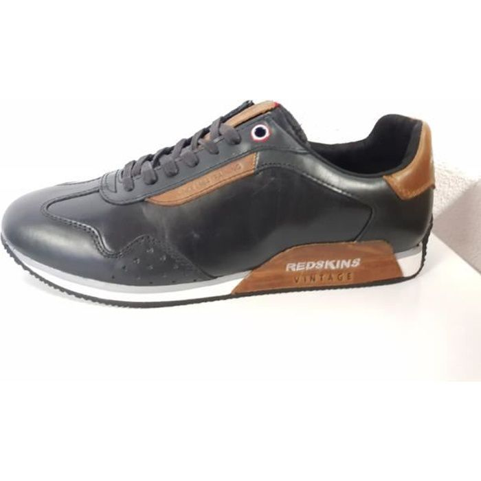 Chaussures redskins radlan noir/cognac
