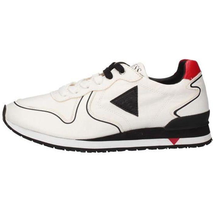 Guess FM5NGLLEL chaussures de tennis Homme blanc