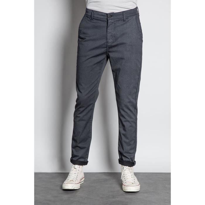 DEELUXE Pantalon chino slim MILANO Black