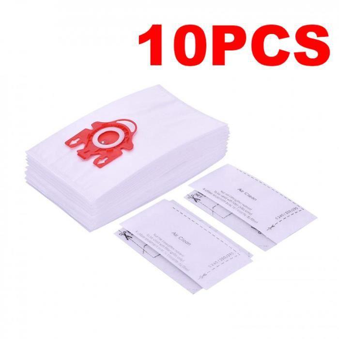 SAC ASPIRATEUR 10 pcs Miele 209077 HyClean 3D Efficiency FJM Sac