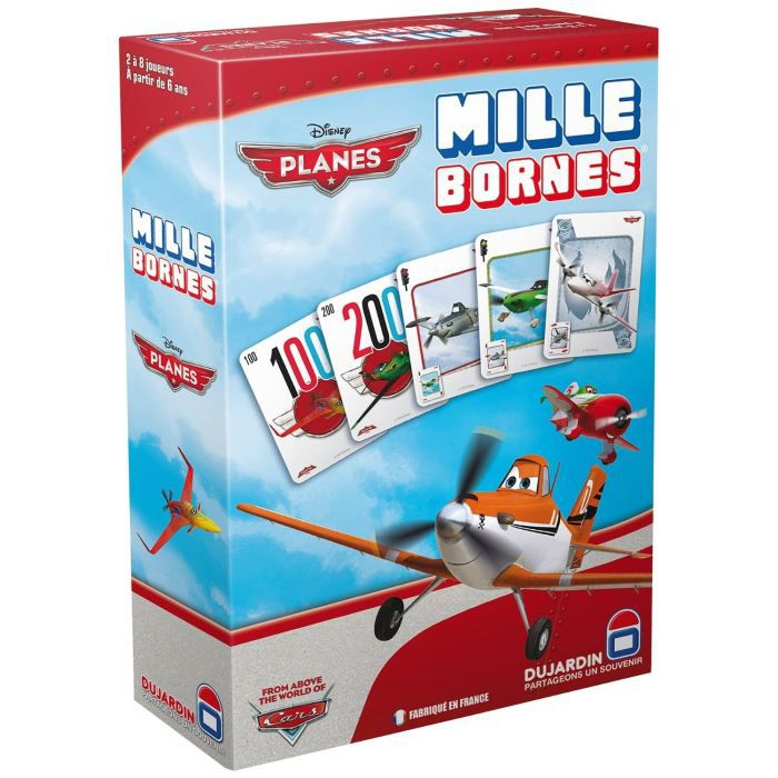 planes mille bornes achat vente cartes de jeu cdiscount. Black Bedroom Furniture Sets. Home Design Ideas