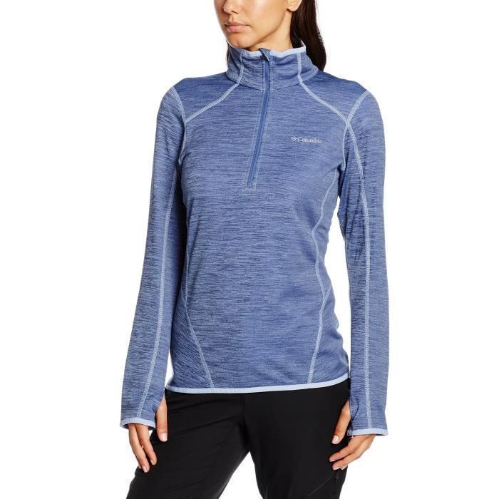 36 2 3k2atf Top Sport Sapphire Zip Toison Taille 1 Columbia Trail 8qvO7xg