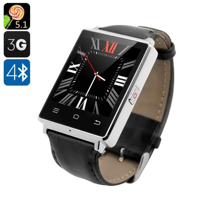 montre connectee android avec gps. Black Bedroom Furniture Sets. Home Design Ideas