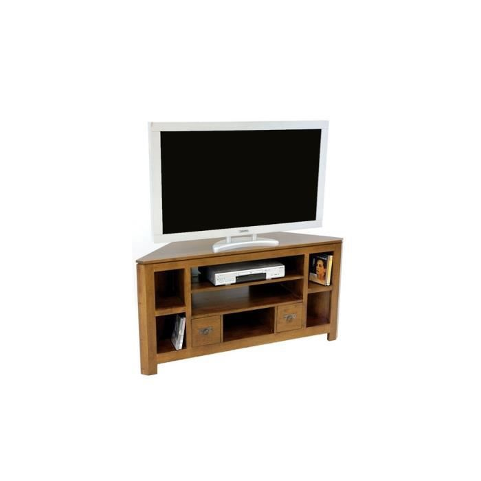 meuble tv d 39 angle h v a 127cm helena achat vente meuble tv meuble tv d 39 angle h v a 127. Black Bedroom Furniture Sets. Home Design Ideas
