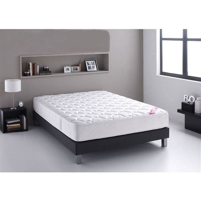 relaxima ensemble matelas sommier 160x200 cm latex et. Black Bedroom Furniture Sets. Home Design Ideas