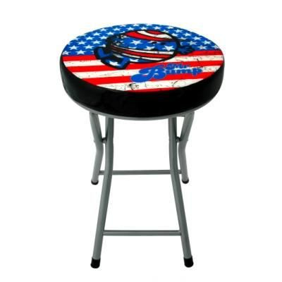 Tabouret pliant mm mr miss bump vintage usa achat for Idee deco usa