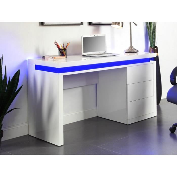 bureau led achat vente bureau led pas cher soldes d s le 10 janvier cdiscount. Black Bedroom Furniture Sets. Home Design Ideas