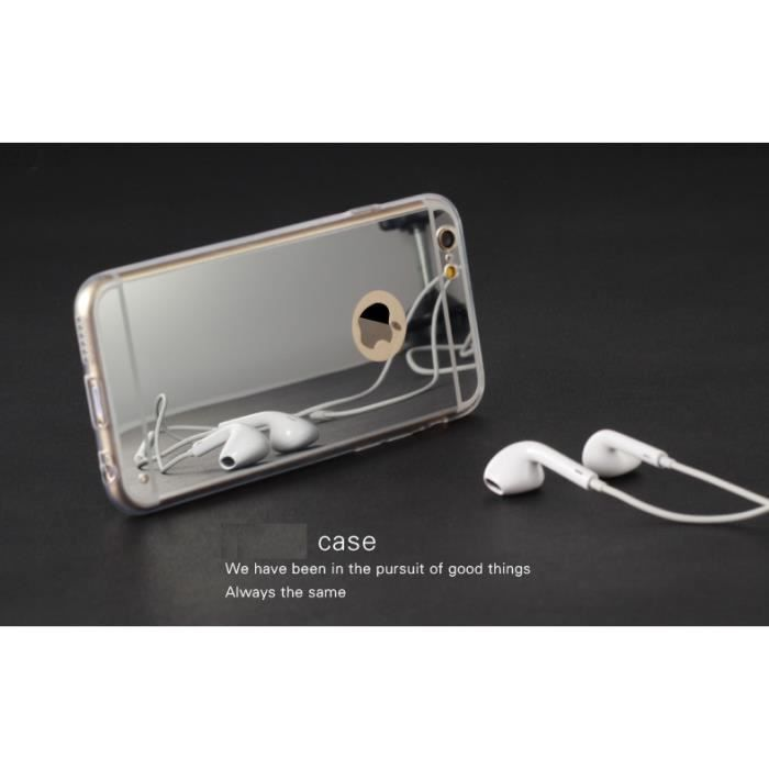 Ysf coque miroir pour apple iphone 6 plus 5 5 achat for Application miroir pour iphone