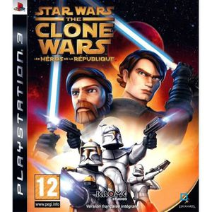 JEU PS3 Star Wars The Clone Wars Republic Heroes Jeu PS3