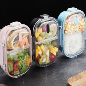 LUNCH BOX - BENTO  1pcs Boîte à Lunch en acier inoxydable 304 Portabl
