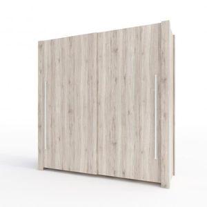 ARMOIRE DE CHAMBRE Armoire GENEWA 208 x 210 x 67 cm Chene Clair - Cha