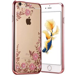 coque rose clair iphone 6