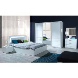 chambre complete led achat vente chambre complete led. Black Bedroom Furniture Sets. Home Design Ideas