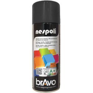 PEINTURE - VERNIS NESPOLI Aérosol peinture professionnelle noir mat