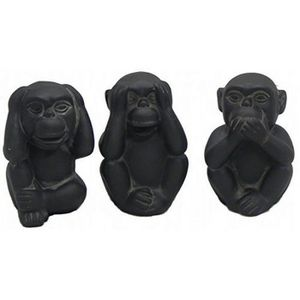 les 3 singes de la sagesse achat vente les 3 singes de. Black Bedroom Furniture Sets. Home Design Ideas