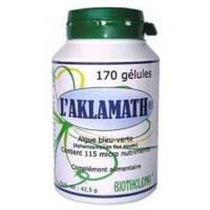 TONUS - VITALITÉ Aklamath 170 gélules végétales de 250mg