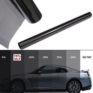 teinté 50/% VLT auto,batiment Film solaire Noir de qualite 76cm x 3 m 76LB1